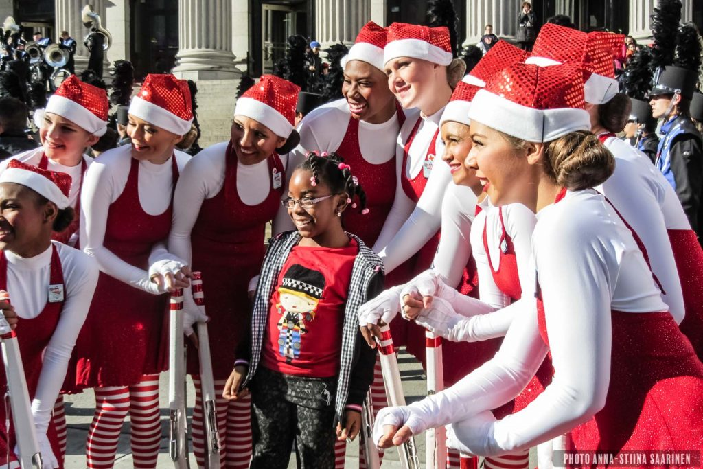 Macy's Parade, New York 2012, photo Anna-Stiina Saarinen