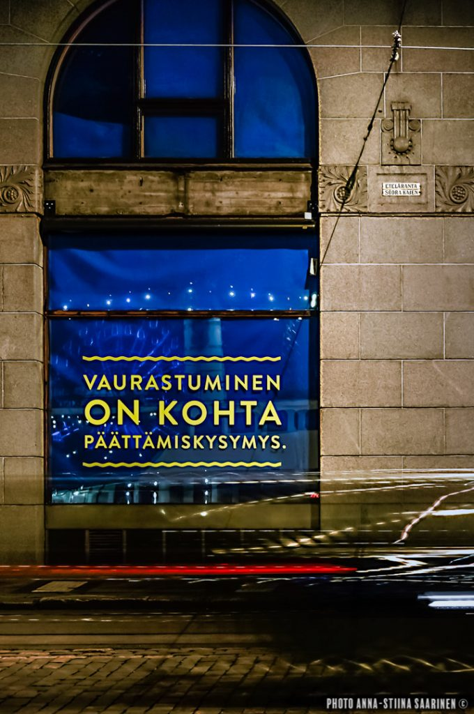 Eteläranta-Esplanadi, Helsinki 2014, photo Anna-Stiina Saarinen