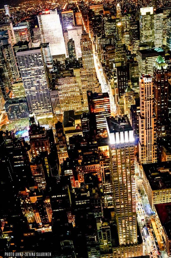 Manhattan New York from Empire State Building, ESB, 2012, photo Anna-Stiina Saarinen