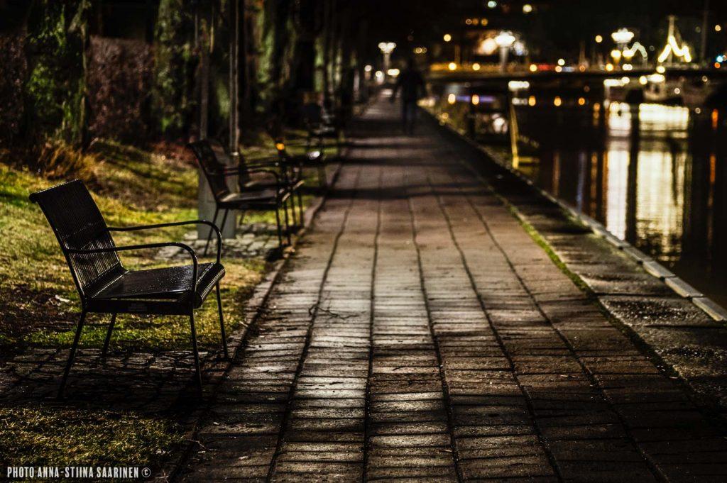 Promenade and river Aura, Turku 2014, photo Anna-Stiina Saarinen