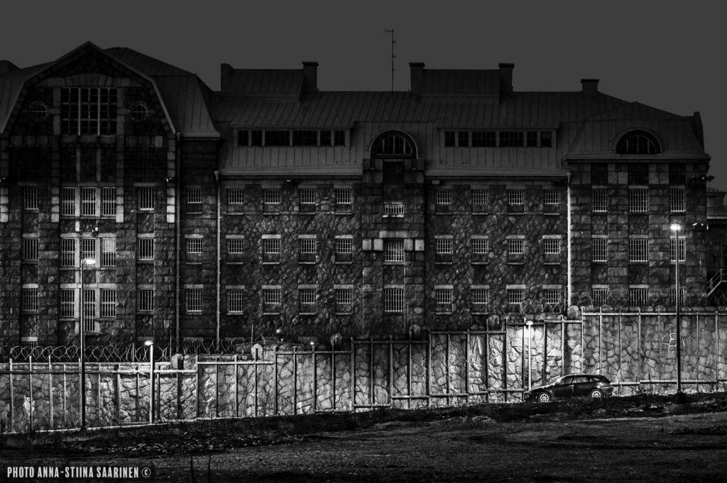 Jailhouse asleep. Kakola, Turku 2015, photo Anna-Stiina Saarinen