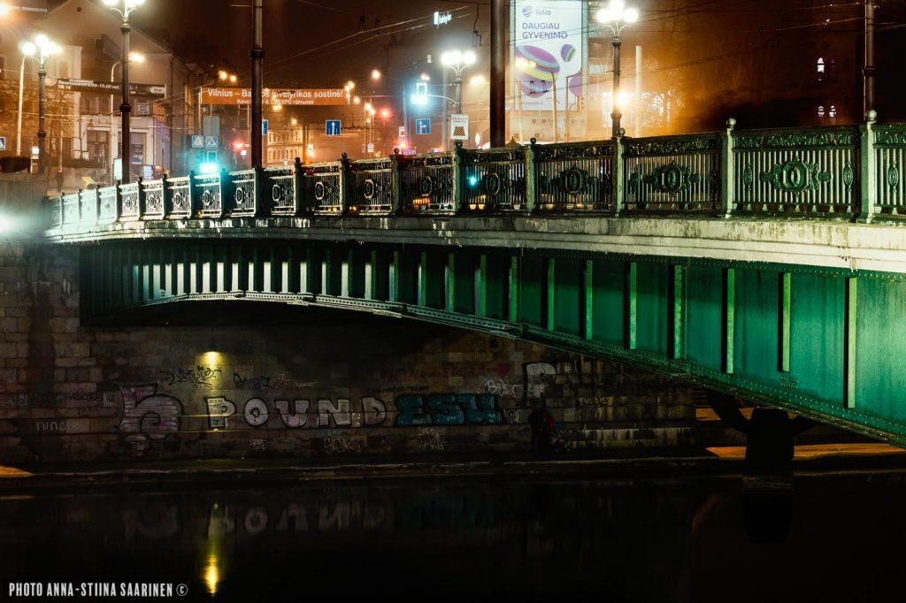 A bridge over river Neris, Vilnius, Liethua 2017, photo Anna-Stiina Saarinen