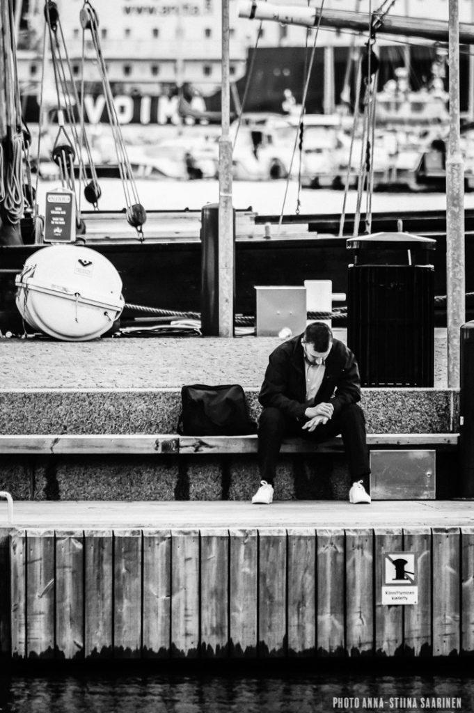 A harbour of Sorrow, Helsinki photo Anna-Stiina Saarinen