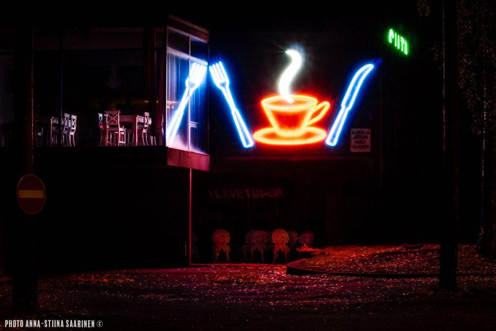 Closed Cafe Silta in Valkeakoski Sääksmäki. Autumn 2014,photo Anna-Stiina Saarinen