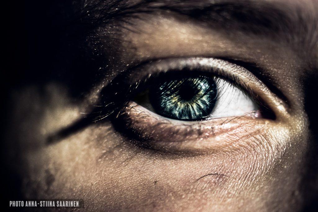 Behind the lashes, photo Anna-Stiina Saarinen