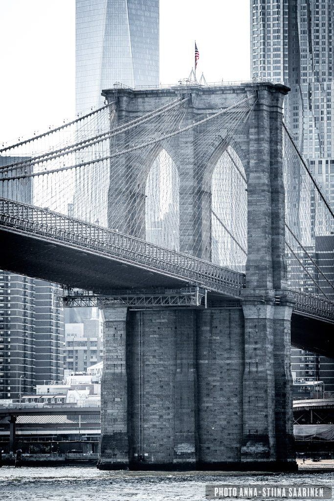 Brooklyn Bridge, photo Anna-Stiina Saarinen