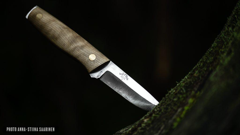 Bush n' Blade custom knives, brand photo, photo Anna-Stiina Saarinen