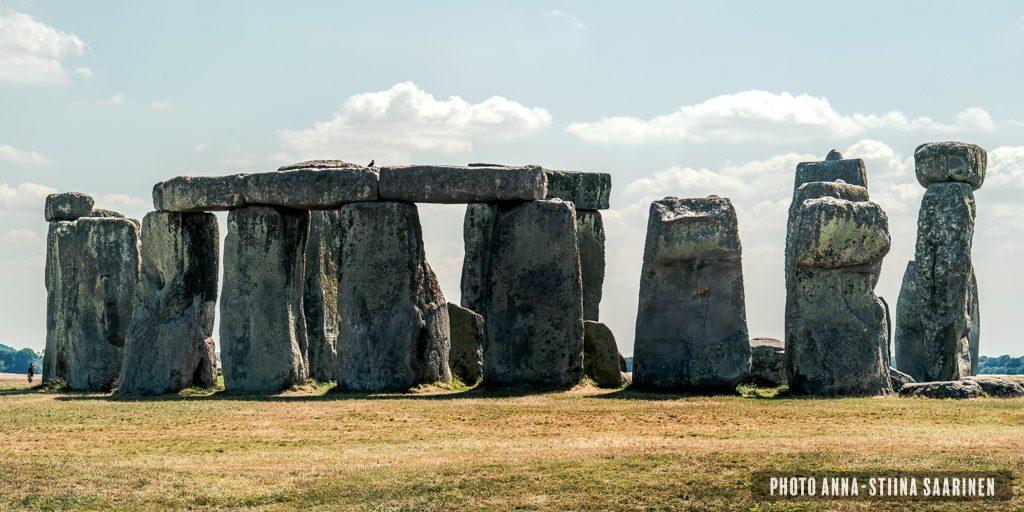 Stonehenge in July 2018, photo Anna-Stiina Saarinen