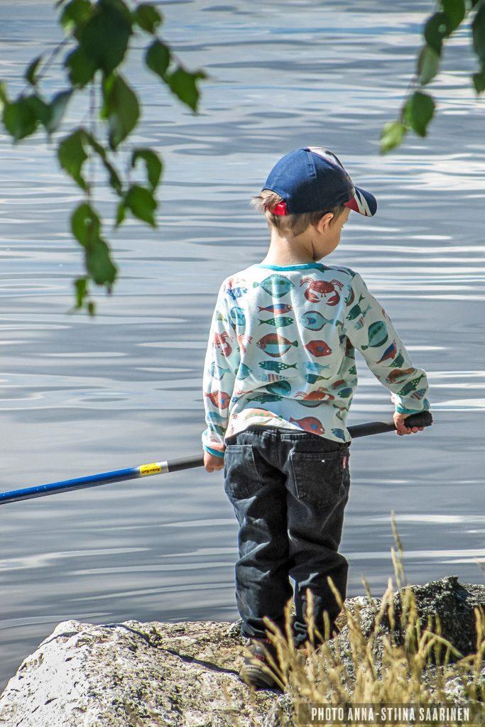 Fisherman, Tampere Finland, Water in the Boots_photo Anna-Stiina Saarine
