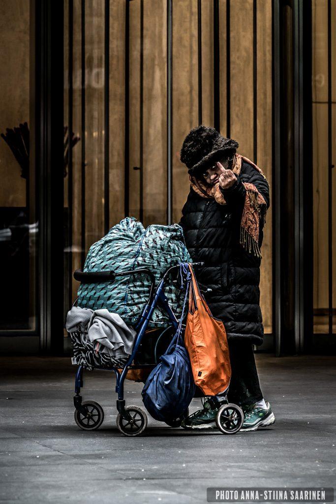 Unknown in New York 2018, photo Anna-Stiina Saarinen