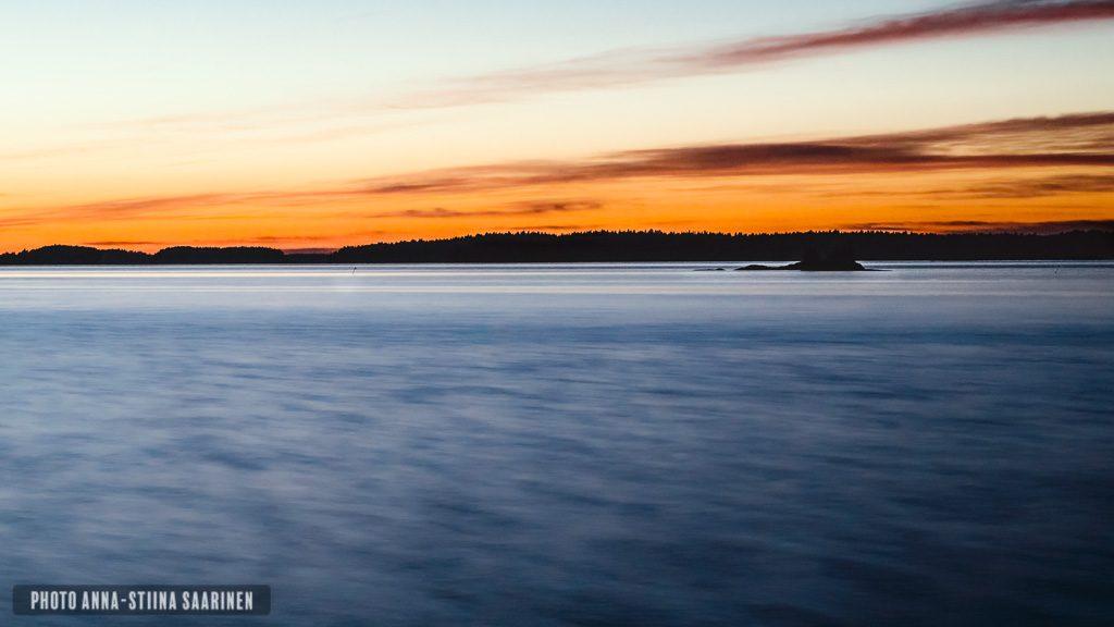 Lake Vanajavesi after Sunset, Valkeakoski Finland, photo Anna-Stiina Saarinen