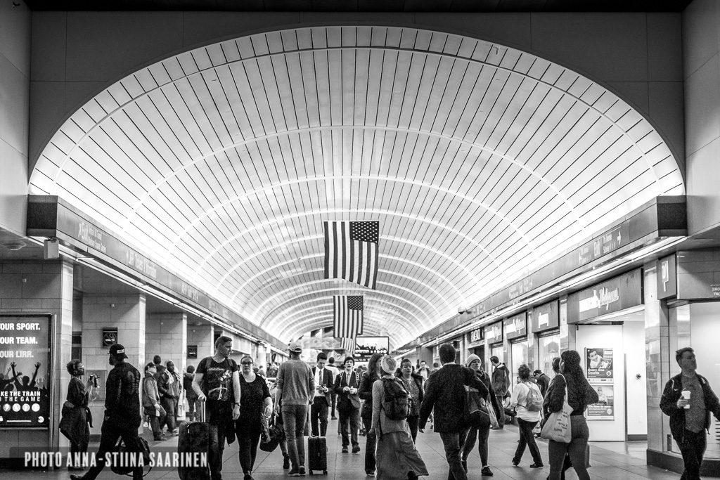 Penn Station New York 2018, photo Anna-Stiina Saarinen