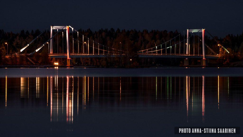 Sääksmäki Bridge, Valkeakoski Finland, photo Anna-Stiina Saarinen