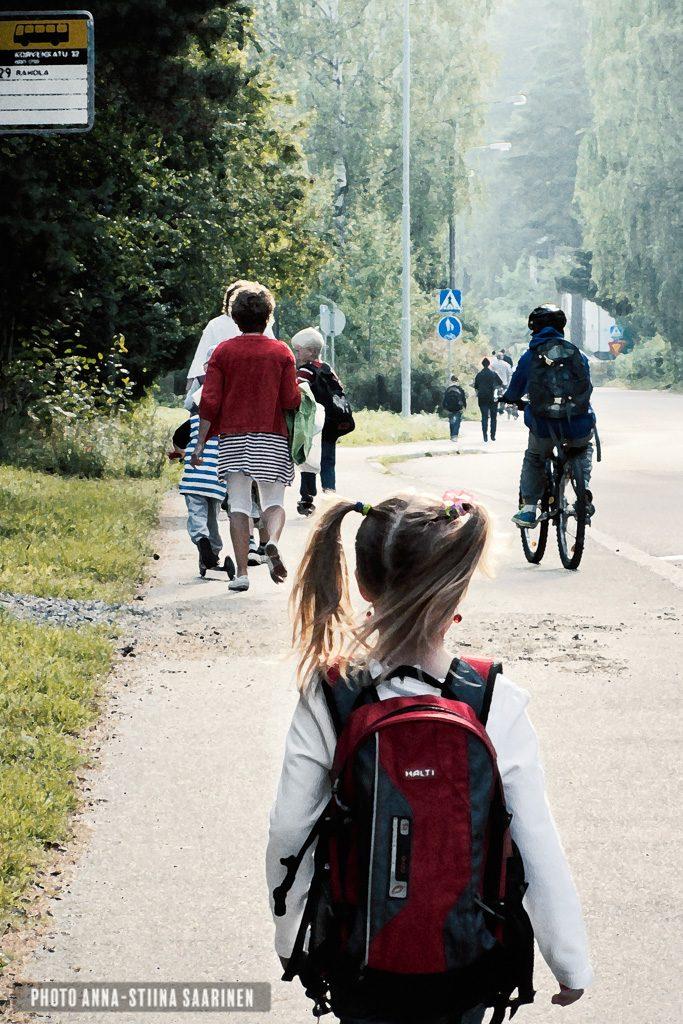 First School Day 2011 Rahola, Tampere, photo Anna-Stiina Saarinen
