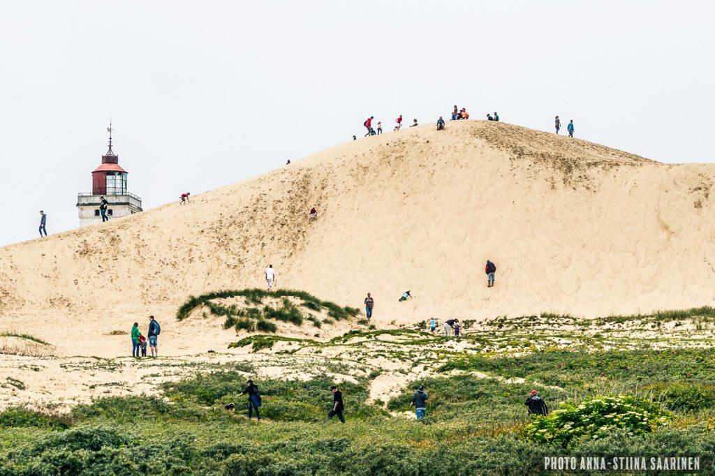 Dune of lighthouse Rubjerg Knude Denmark, photo Anna-Stiina Saarinen
