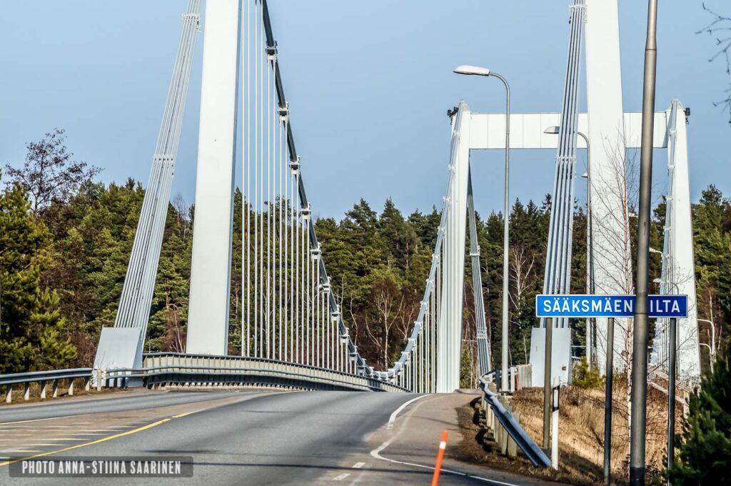 Sääksmäki Bridge Valkeakoski Finland photo Anna-Stiina Saarinen annastiinasphotos.com