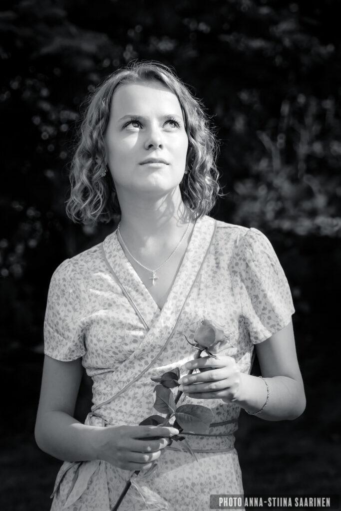 Portrait of a girl photo Anna-Stiina Saarinen annastiinasphotos.com